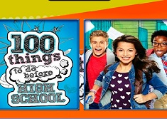 100 Things to do Before High School Memory