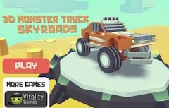 3D Monster Truck: Skyroad