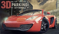 3D Parking City Rumble