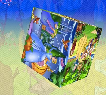 3D Princesses Puzzle