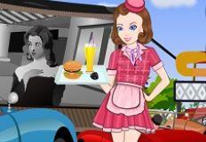 50s Carhop Girl
