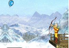Aang Archery Practice