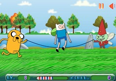 Adventure Time Funny Jump