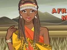 African Girl Make Up