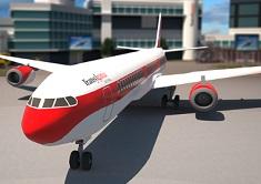 Airplane 3D Parking Simulator