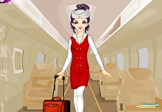 Airplane Stewardess