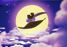Aladdin and Jasmine Magic Carpet Puzzle