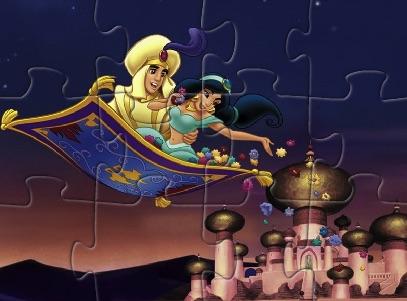 Aladdin and Jasmine Puzzle