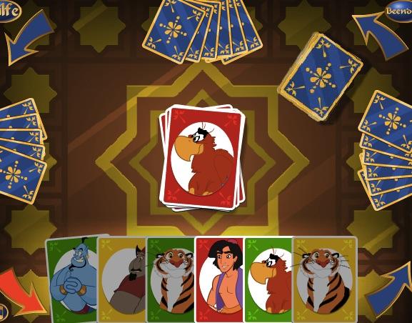 Aladdin Cards Game
