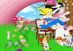 Alice in Wonderland Decorate