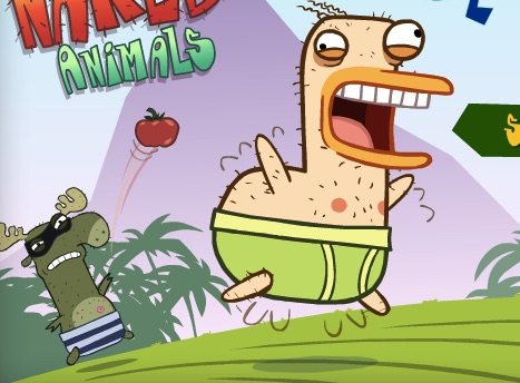 Almost Naked Animals Games