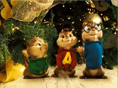Alvin and the Chipmunks Christmas Puzzle