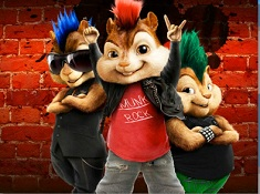 Alvin and the Chipmunks Rock and Roll Puzzle