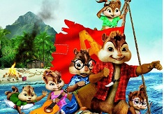 Alvin and the Chipmunks Sliding Puzzle
