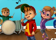 لعبة الفين والسناجب Alvin and the Chipmunks سبيستون