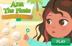 Ana the Pirate Math Quiz