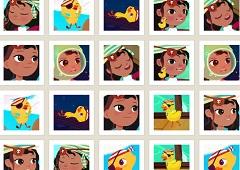 Ana the Pirate Memory Game