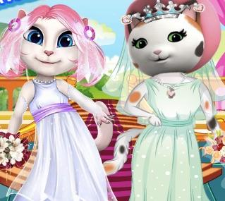 Angela vs Callie Wedding Competition