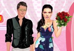 Angelina and Brad Romantic Date
