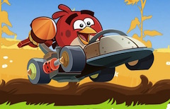 Angry Birds Cars Hidden Letters