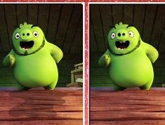 Angry Birds Pig 6 Differences