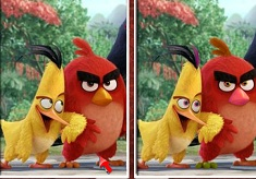 Angry Birds Red 6 Differences