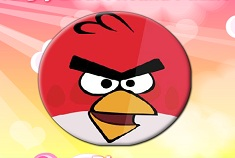 Angry Birds Round Puzzle