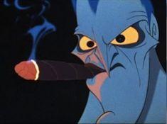 Angry Hades Smoking Puzzle