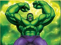 Angry Hulk Puzzle