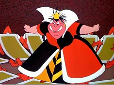 Angry Queen of Hearts Puzzle