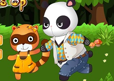 Animal Buddy Dress Up