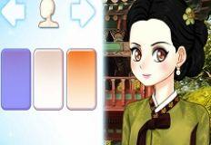 Anime Hanbok Styling