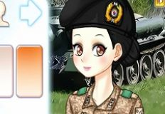 Anime Military Syling