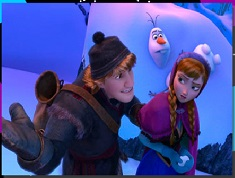 Anna and Kristoff Adventure Puzzle