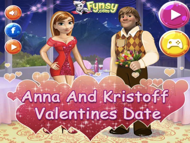 Anna and Kristoff Valentines Date