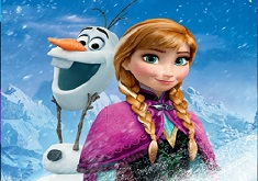 Anna and Olaf Puzzle