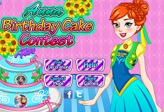 Anna Birthday Cake Contest