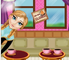 Anna Cleaning Coffe Shop