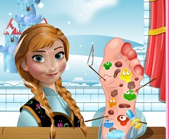 Anna Foot Injury