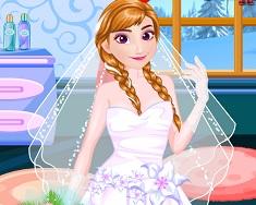 Anna Frozen Wedding Prep