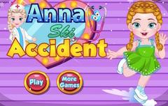 Anna Ski Accident