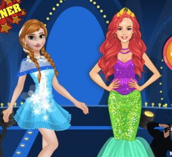 Anna vs Ariel Fashion Show