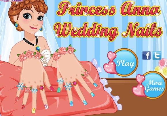 Anna Wedding Nails