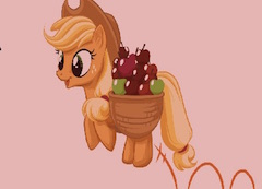 Apple Jack Apple Colecting