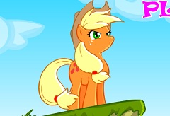 Applejack Pony Adventure