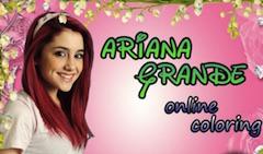 Ariana Grande Online Coloring