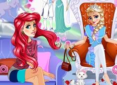 Ariel and Elsa Dream