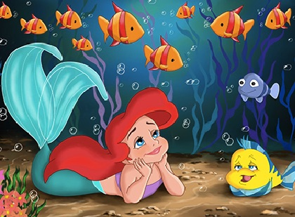 Ariel and Flounder Puzzle