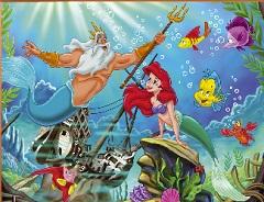 Ariel and Triton Puzzle