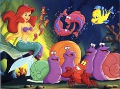 Ariel and Underwater Friends Puzzle